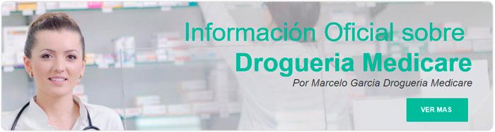 Marcelo Garcia de Drogueria Medicare presenta la pagina web de drogueria medicare